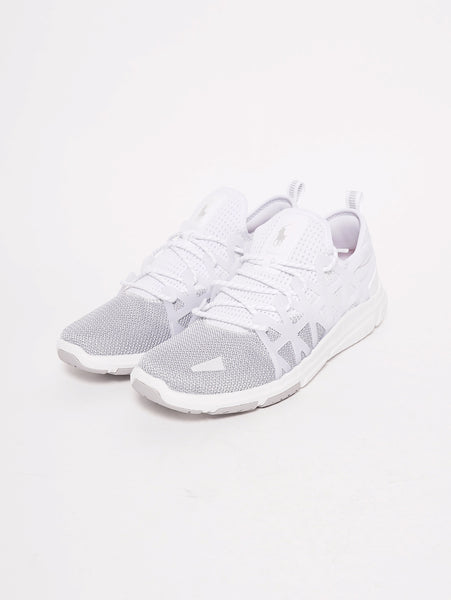 RALPH LAUREN Sneaker Train 200 Bianco Trymeshop.it