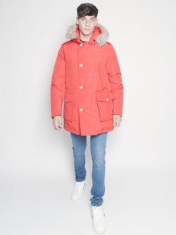 WOOLRICH-Parka Arctic in Ramar DF Rosso-TRYME Shop