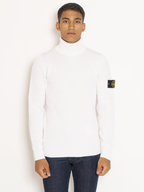 STONE ISLAND-Dolcevita a Costa Inglese - Bianco Naturale-TRYME Shop