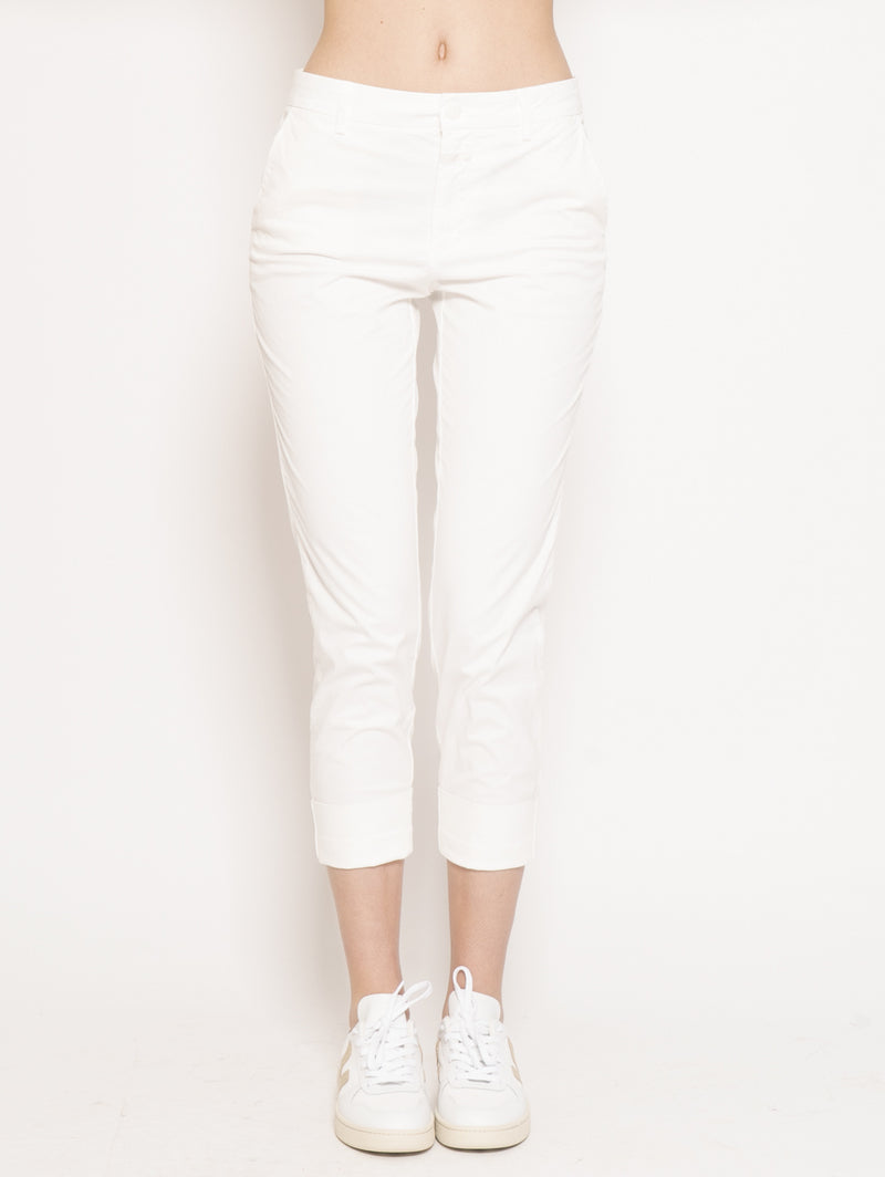 CLOSED-Chino Stewart Bianco-TRYME Shop