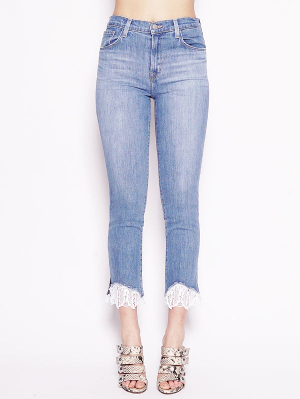 Ruby High Rise Crop Cigarette Eco Wash Denim-Jeans-J BRAND-TRYME Shop