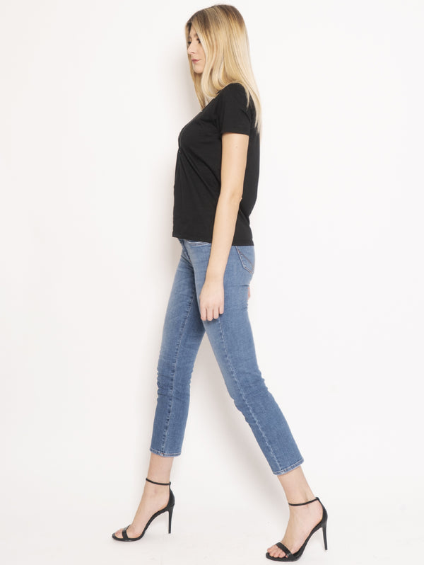 Jeans Straight Flo Cut Stretch Noosa Blu