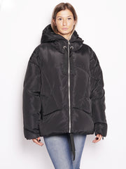 Piumino oversize - Rainproof Down Jacket Nero