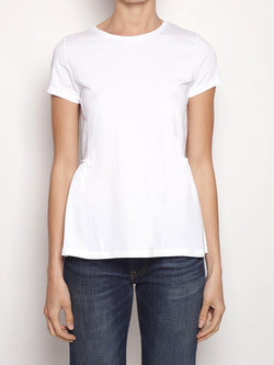 ALPHA STUDIO-T-shirt con Balza Bianco-TRYME Shop