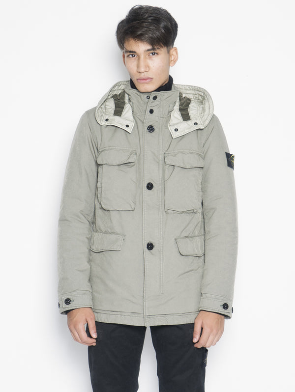 STONE ISLAND-Field Jacket David Tc 41249 Verde-TRYME Shop