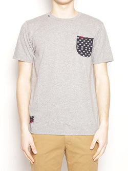 T-shir Classic Pocket Grey Melange-T-shirt-in the box-TRYME Shop