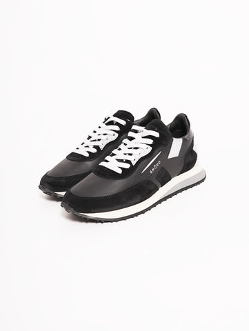 GHOUD Sneakers Women RUSH Nero / Argento Trymeshop.it