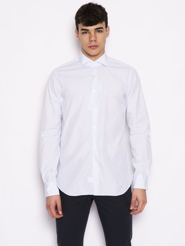 XACUS-Camicia Oxford Blu-TRYME Shop