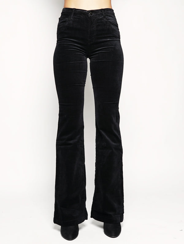 Maria Flare high-rise 23021T635 Nero-Jeans-J BRAND-TRYME Shop