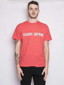 2NS88 'GRAPHIC SIX' Corallo-T-shirt-STONE ISLAND-TRYME Shop