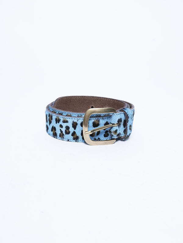 BLUE LEOPARD LEATHER Celeste-Cintura-ESSENTIEL-TRYME Shop