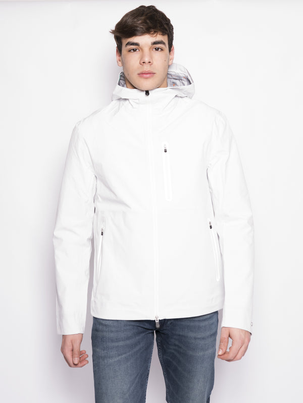 D3043M GRIN8 - Giacca termonastrata Bianco-Jacket-SAVE THE DUCK-TRYME Shop