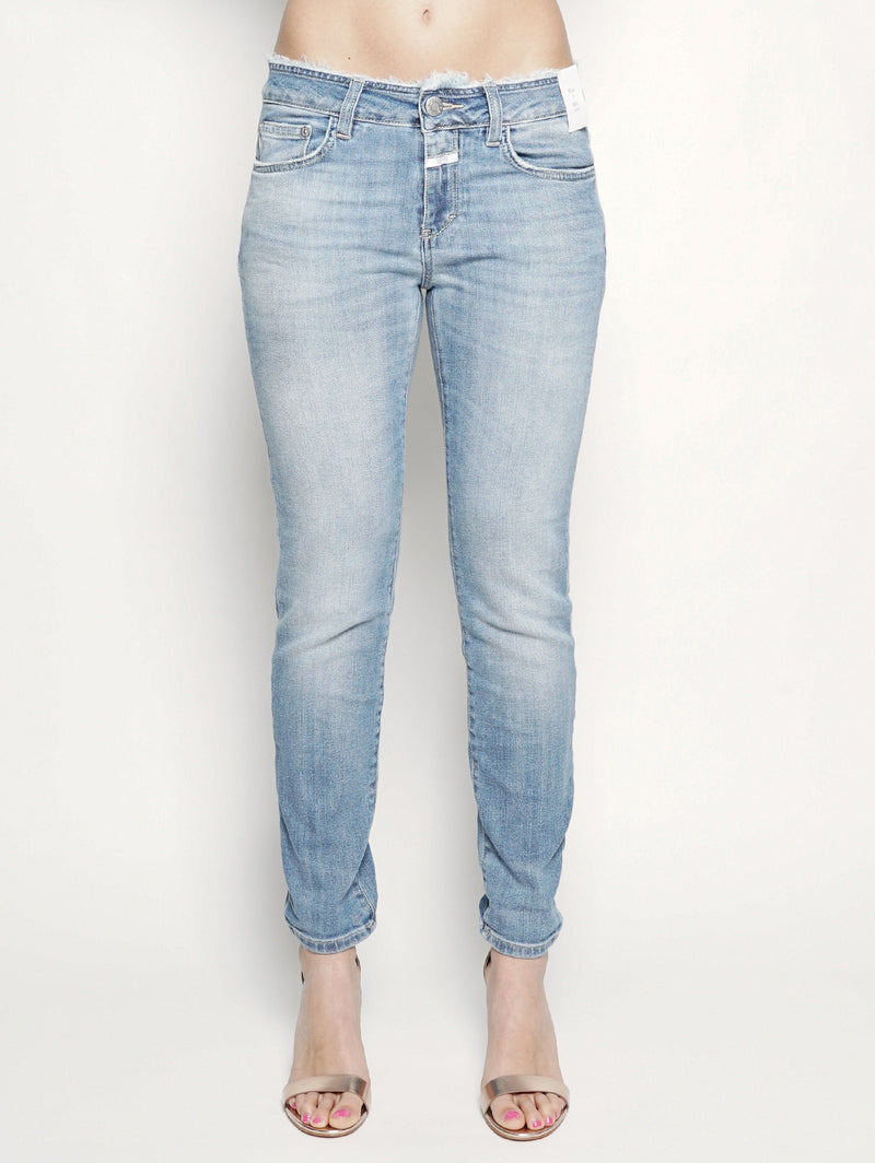 CLOSED-Jeans con Vita Sfrangiata-TRYME Shop