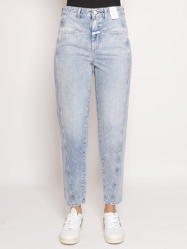 CLOSED-Jeans Pedal Twist Blu-TRYME Shop