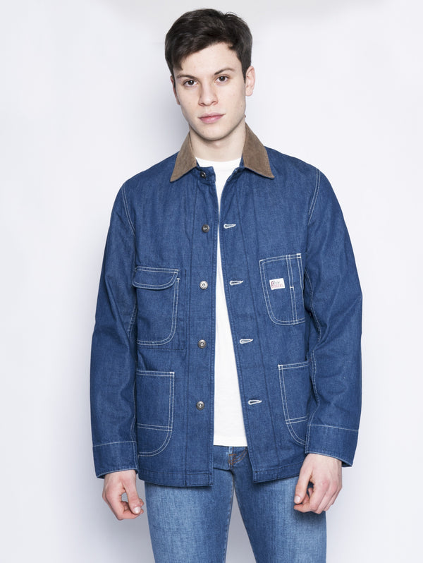 Giacca trucker con impunture Denim-Jacket-ROY ROGERS-TRYME Shop