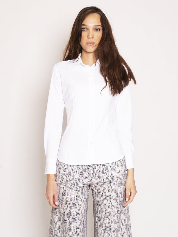 RRD-Camicia Super Stretch - Bianco-TRYME Shop