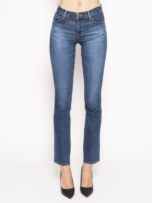J BRAND-Jeans Sallie Mid Rise Boot Blu-TRYME Shop
