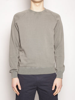 ALPHA STUDIO-Felpa in Cotone Militare-TRYME Shop