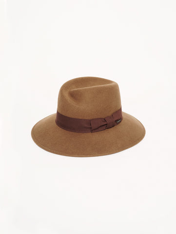 WOOLRICH W'S Wide Brim Hat TABACCO Trymeshop.it