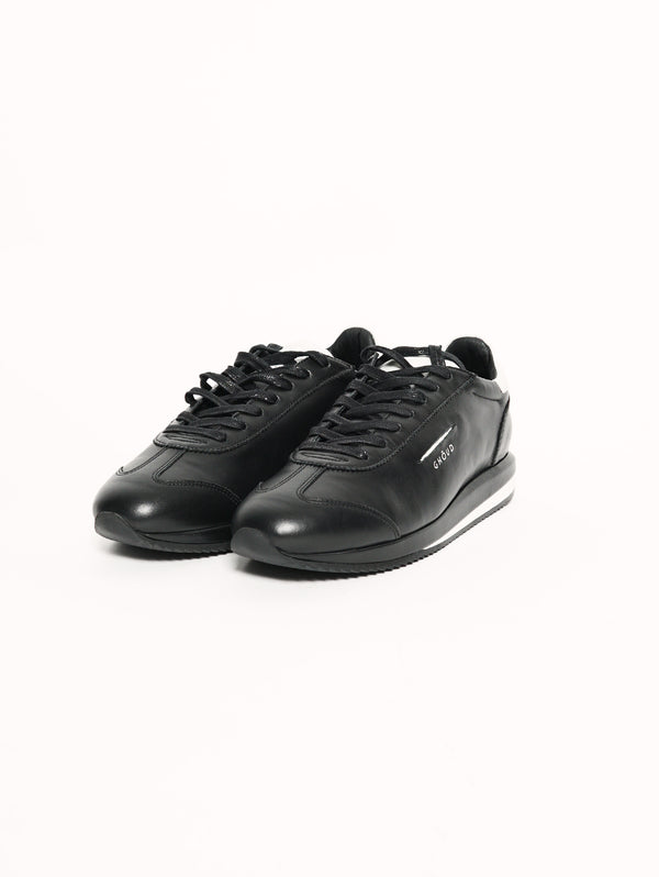 SNEAKER IN PELLE 45 MM Nero-Scarpe-GHOUD-TRYME Shop