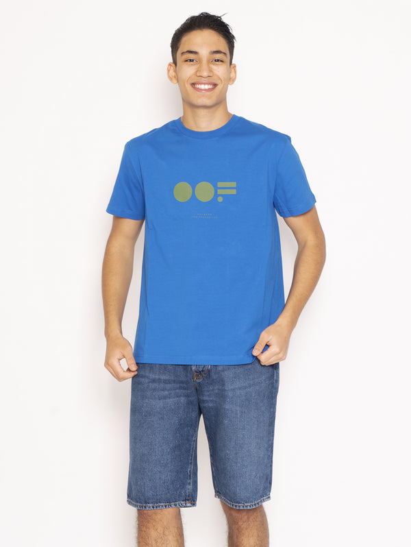 OOF-T-shirt con Maxi Logo Royal-TRYME Shop