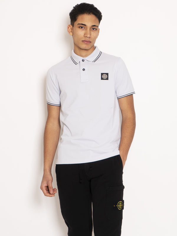 STONE ISLAND-Polo Slim Fit Cielo-TRYME Shop
