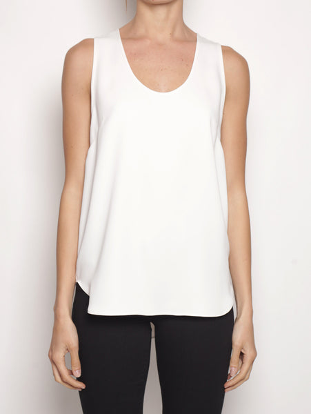 P.A.R.O.S.H. Top basico D310270 PANTERAX Bianco Top - TRYMEShop