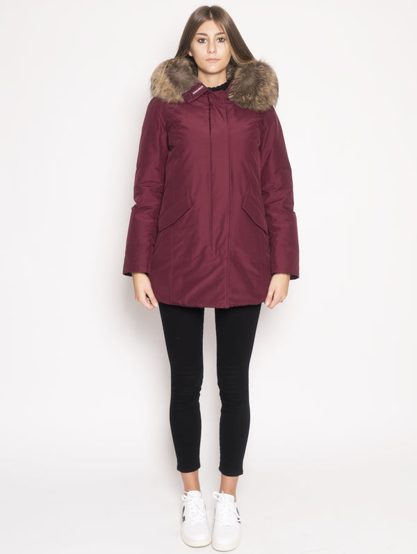 WOOLRICH-Parka Arctic in Ramar Rosso-TRYME Shop