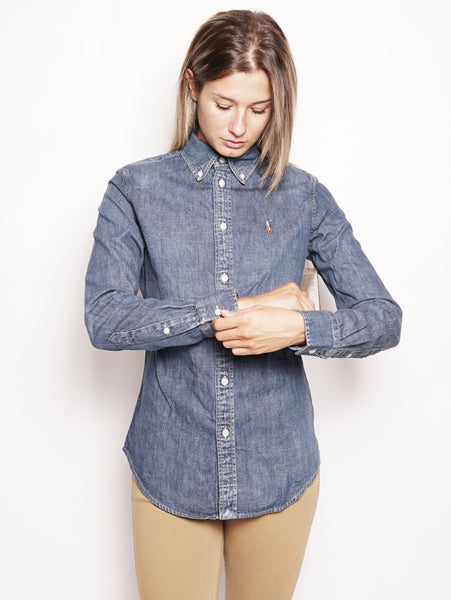 Camicia in denim Custom-Fit Denim