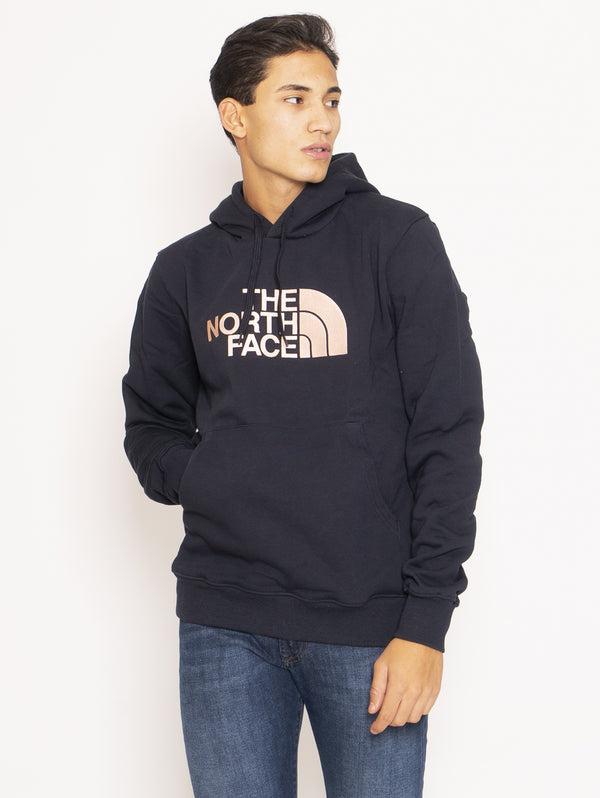 THE NORTH FACE-Felpa con cappuccio - Navy/Pink-TRYME Shop