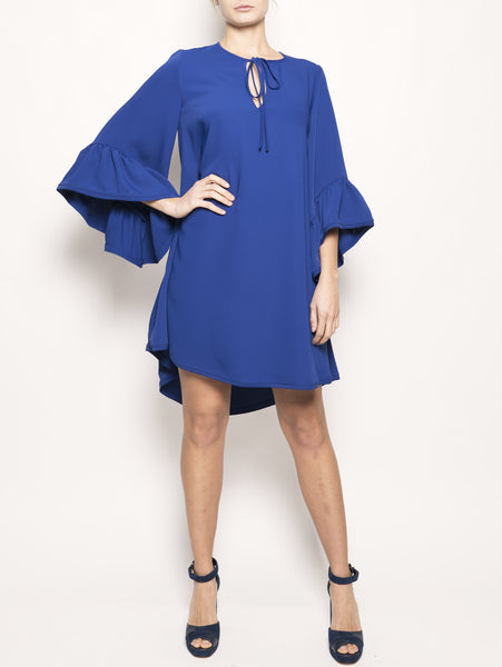 Abito oversize PANTERY D730401 Blu P.A.R.O.S.H. TRYMEShop