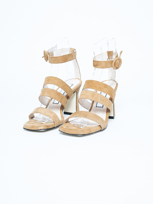 Sandals with Leather Bands