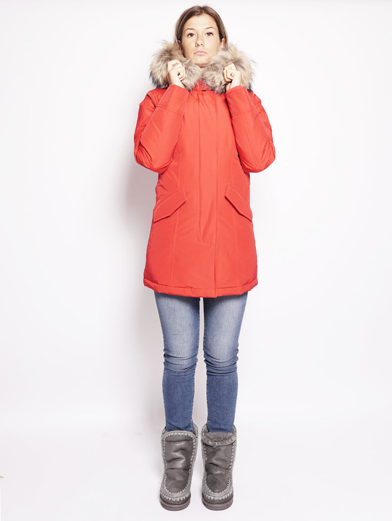 W'S Arctic Parka Rosso