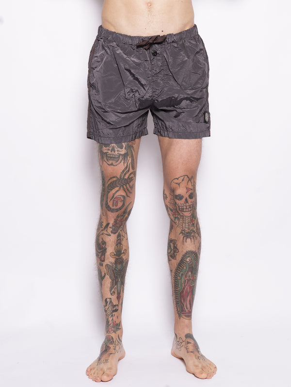B0643 SHORTS MARE IN NYLON Nero-Costumi-STONE ISLAND-TRYME Shop
