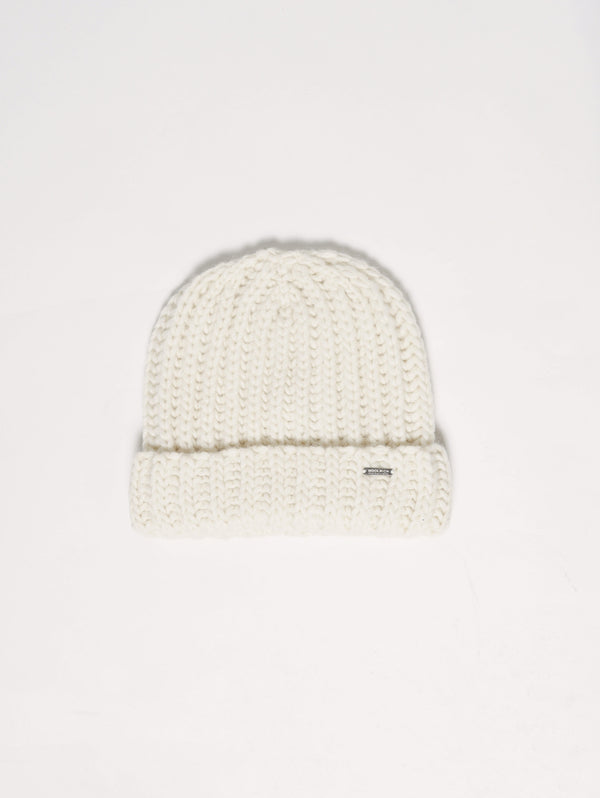 W'S CHUNKY HAT Crema mnelange-Cappelli-WOOLRICH-TRYME Shop