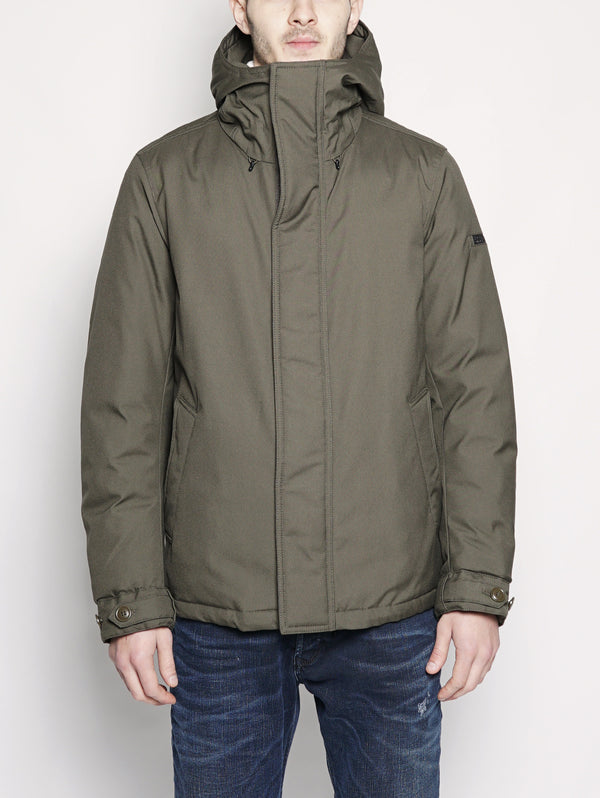 WOOLRICH-Giaccone in Teton Verde-TRYME Shop