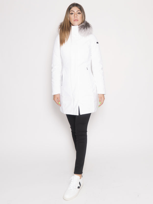 RRD-Parka Winter Long Lady F Bianco-TRYME Shop