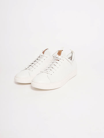 RALPH LAUREN Sneaker Dunovin in pelle Bianco Trymeshop.it