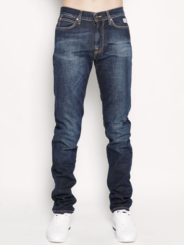 927 historical denim elast. pater Denim medio-Pantaloni-ROY ROGERS-TRYME Shop