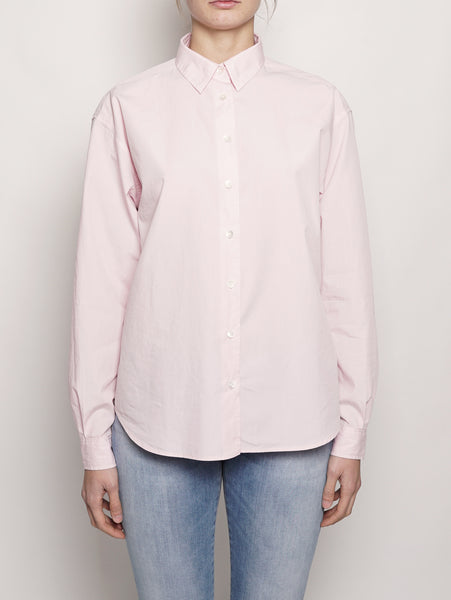 Camicia in popeline di cotone  Rosa CLOSED TRYMEShop