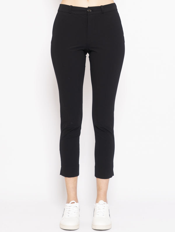 RRD-Chino Capri in Lycra Nero-TRYME Shop