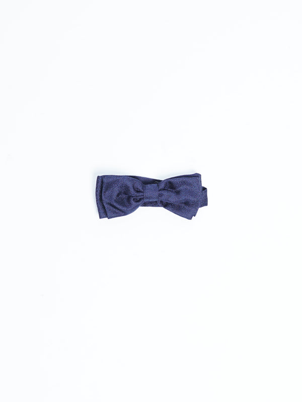 MANUEL RITZ-Papillon in seta Blu-TRYME Shop