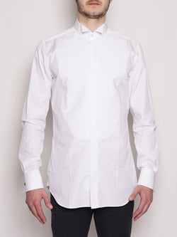 XACUS-Camicia da smoking 556ML 11930 Bianco-TRYME Shop