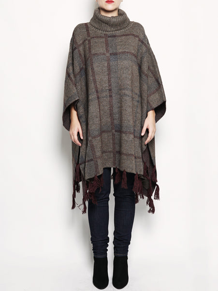 Lady NEBIT wool cape Fango Barbour TRYMEShop