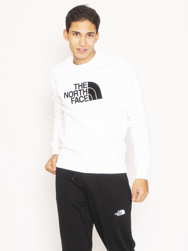 THE NORTH FACE-Felpa girocollo - Bianco-TRYME Shop