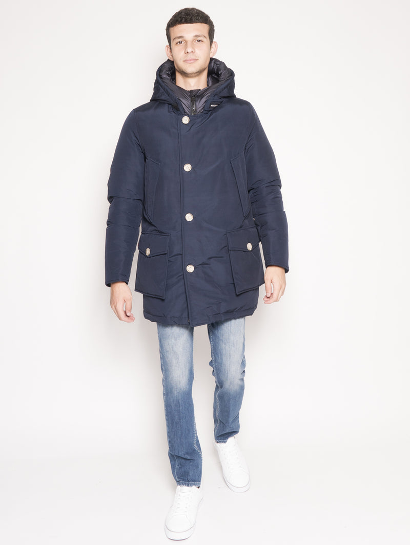 WOOLRICH-Parka Arctic Nf Blu-TRYME Shop