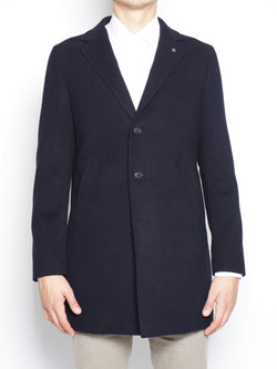 MANUEL RITZ-Cappotto tre bottoni 2132C4448 163726 NAVY-TRYME Shop