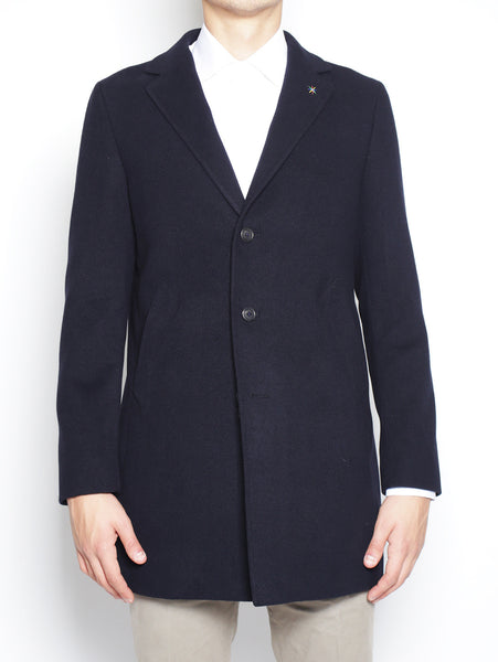 Manuel Ritz Cappotto tre bottoni 2132C4448 163726 NAVY Cappotto - TRYMEShop