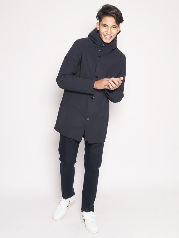 RRD-Parka Taglio Laser Down Under Blu-TRYME Shop