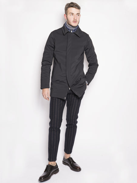 Cappotto techno stretch - Leader Nero
